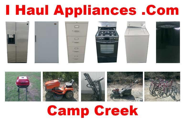 appliance removal camp creek ga i haul appliances