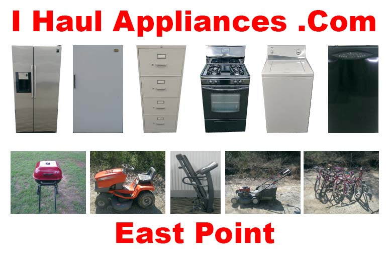 appliance removal east point ga i haul appliances