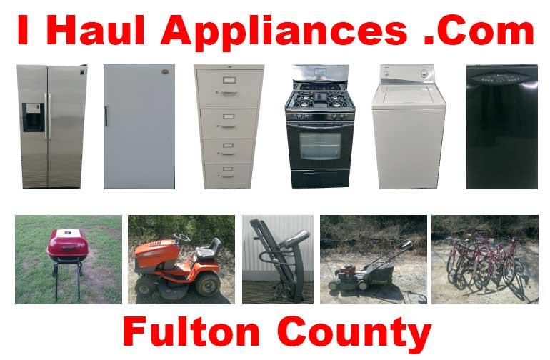 appliance removal fulton county ga i haul appliances