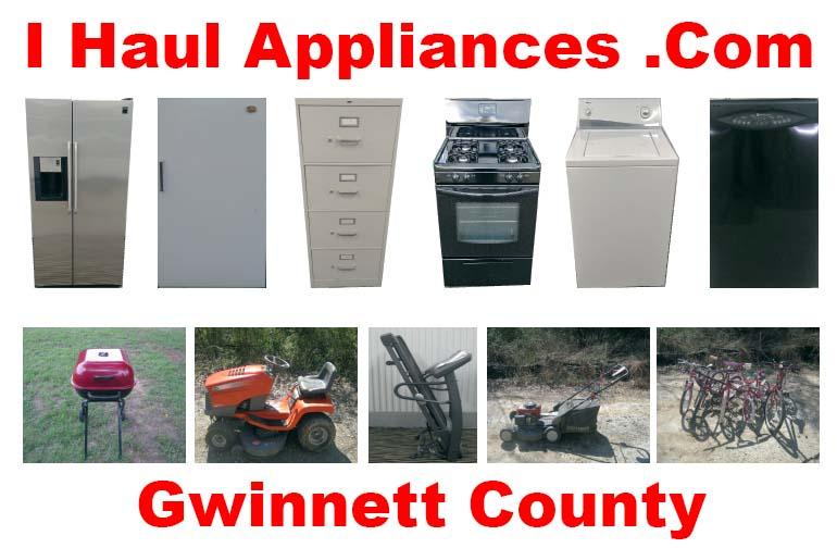 appliance removal gwinnett county ga i haul appliances