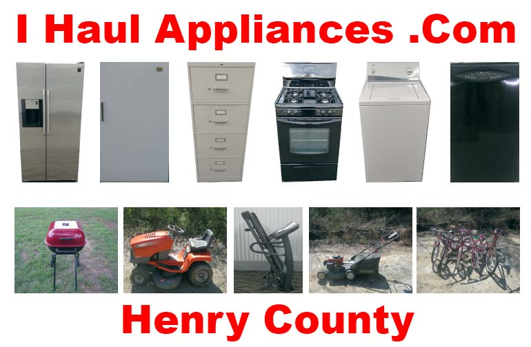 appliance removal henry county ga i haul appliances