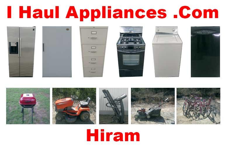 appliance removal hiram ga i haul appliances