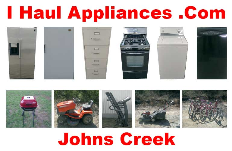 appliance removal johns creek ga i haul appliances