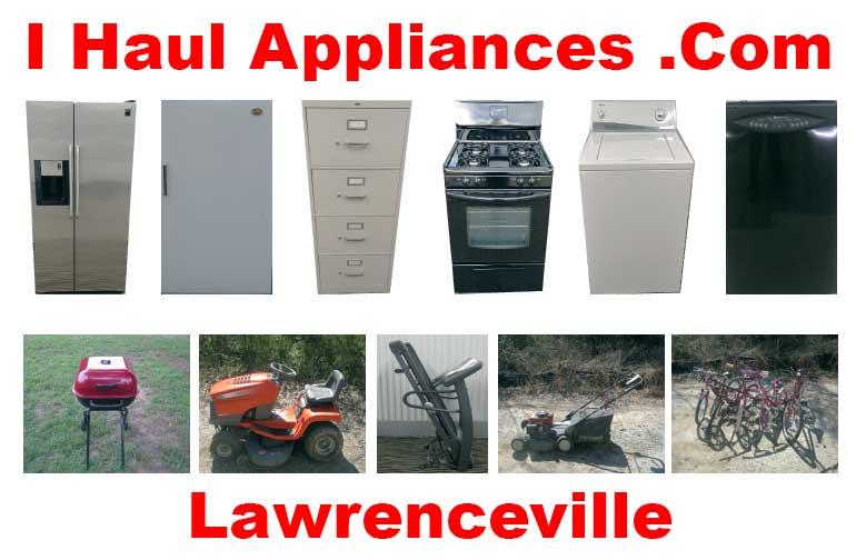 appliance removal lawrenceville ga i haul appliances