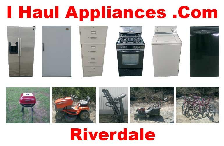 appliance removal riverdale ga i haul appliances