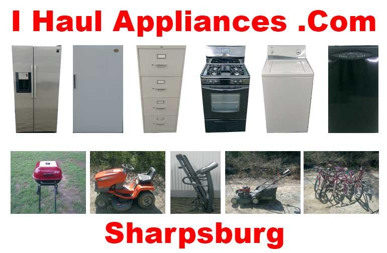 appliance removal sharpsburg ga i haul appliances