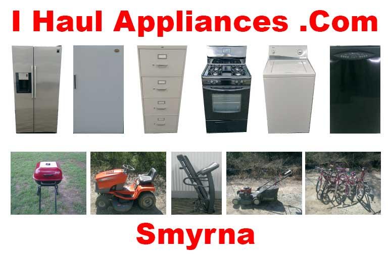 appliance removal smyrna ga i haul appliances