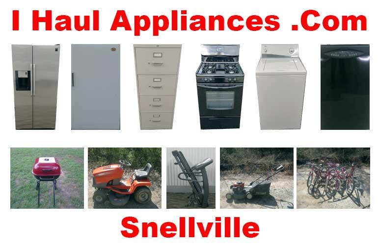 appliance removal snellville ga i haul appliances