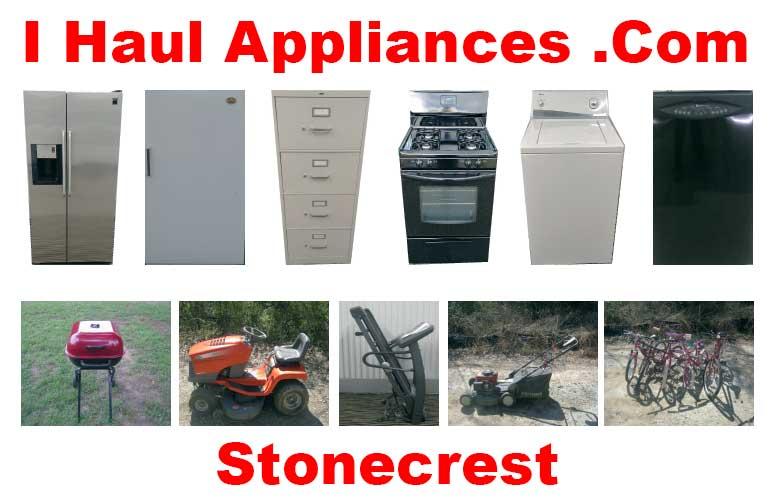 appliance removal stonecrest ga i haul appliances