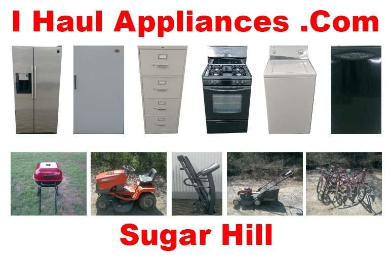 appliance removal sugar hill ga i haul appliances
